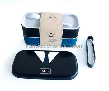 2 Tier Japanese Bento Box For Catering Clothing As Creative Gifts