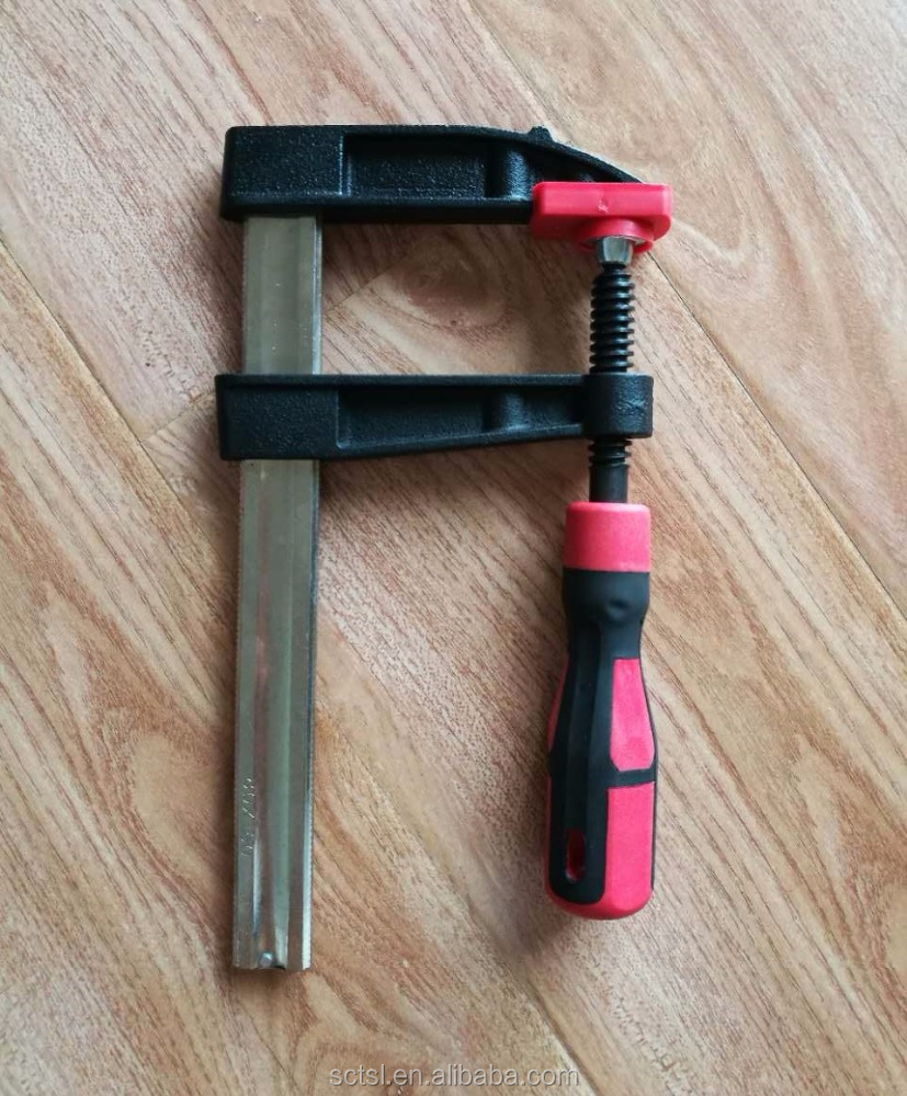 German Type F WOOD WORKING CLAMP WITH WOODEN HANDLE