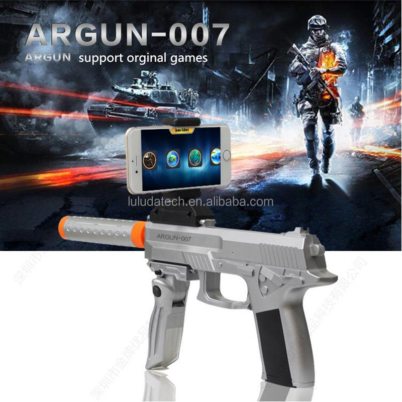 Bluetooth games pistols decompression augmented reality shooter , AR <strong>guns</strong>
