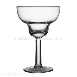 China factory price competitive drinking led lighting cocktail glass