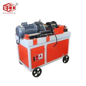 Portable Rebar Reinforcing Bar Chaser Thread rolling Machine
