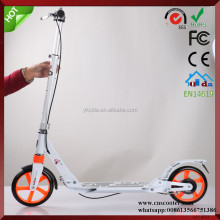 Adults big wheel push scooter Full Alluminum with double suspension Europe urban kick scooter