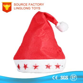Bambini O per Adulti Decorazione Cappelli di Natale Peluche cappello di  Babbo natale Caps Con Le f5fc3d2841b9