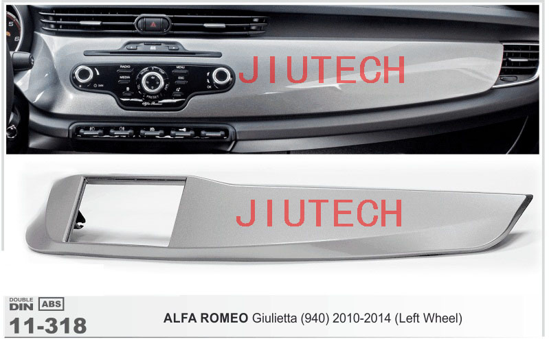 11-318 Car CD Stereo Radio Surround for ALFA ROMEO Giulietta 940 2010-2014 Left Wheel