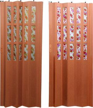 Interior Pvc Folding Doors Wooden Design/plastic Folding Door