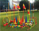 Mini Disc Cones Soccer Cones Football Training Equipment