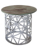 Stainless steel furniture customized decorative round side coffee corner metal tea table leg.