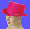 Bright pink top Hat Show Girl Ladies Fancy Dress