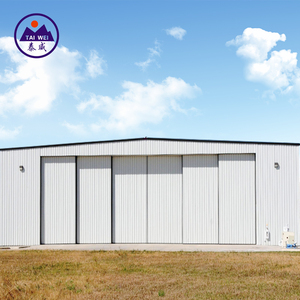 High Quality Prefabricated Steel hangar Construction Steel Structure Hangar