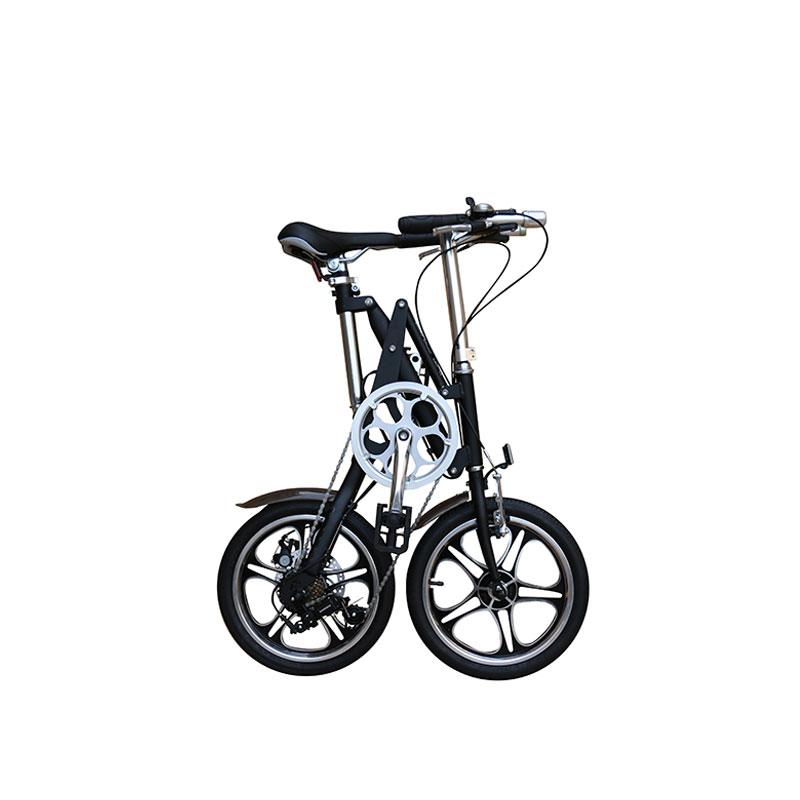 14 pulgadas marco de acero 7 velocidad bicicleta plegable pequeña ...
