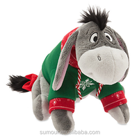 Eeyore Holiday Plush - Medium - 12''