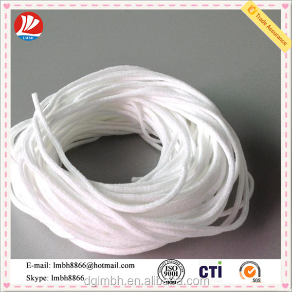 round earloop for n95 mask/ face mask raw material