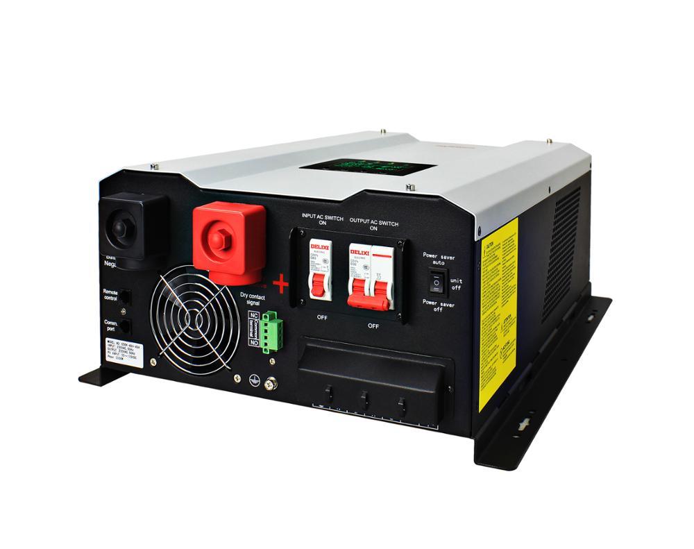 12000 Watt Sóng Sin Thuần Túy AC Inverter 15kVA 48 V 12000 W Lai Off Grid Bộ Chuyển Đổi Năng Lượng Mặt Trời