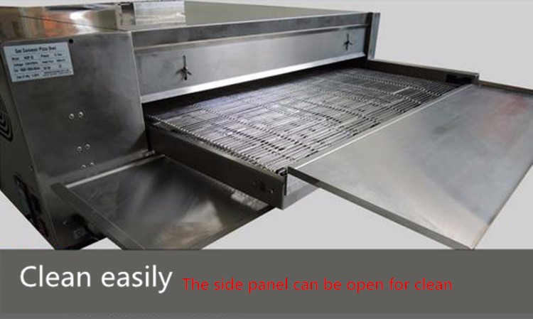 32 inches Big Capacity Convection Electric Conveyor Pizza Oven