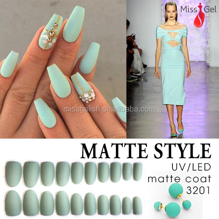 Make Every Color Matte Gel Top Coat Matte Nail Polish - Buy Matte ...