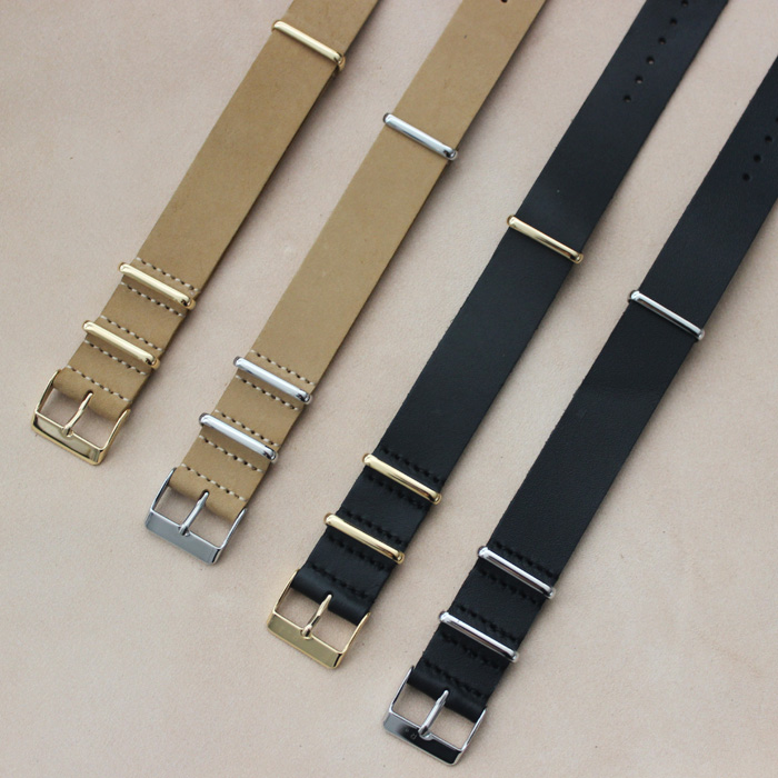 Factory Directly Rose Gold Buckle Fashion Nato Watch Straps Nato Strap Wholesale