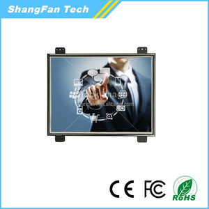 HD /BNC/VGA/AV/USB Input 7inch Resistive Open Frame 8inch 10inch 12inch Touch Screen LCD Monitor For Ordering Service