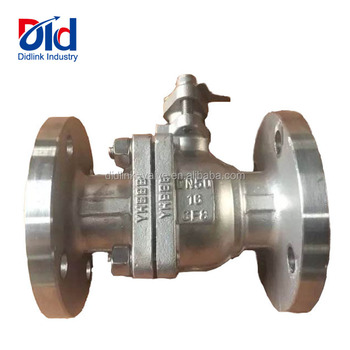 Low Price Stainless steel 304 DN50 CF8 2pc Flanged Control Water Gas And Oil Ball Valves