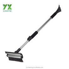 "Ice Scraper / Snow Brush & Water Sponge - 3 in 1 Extends to 59"" For Any Vehicle"