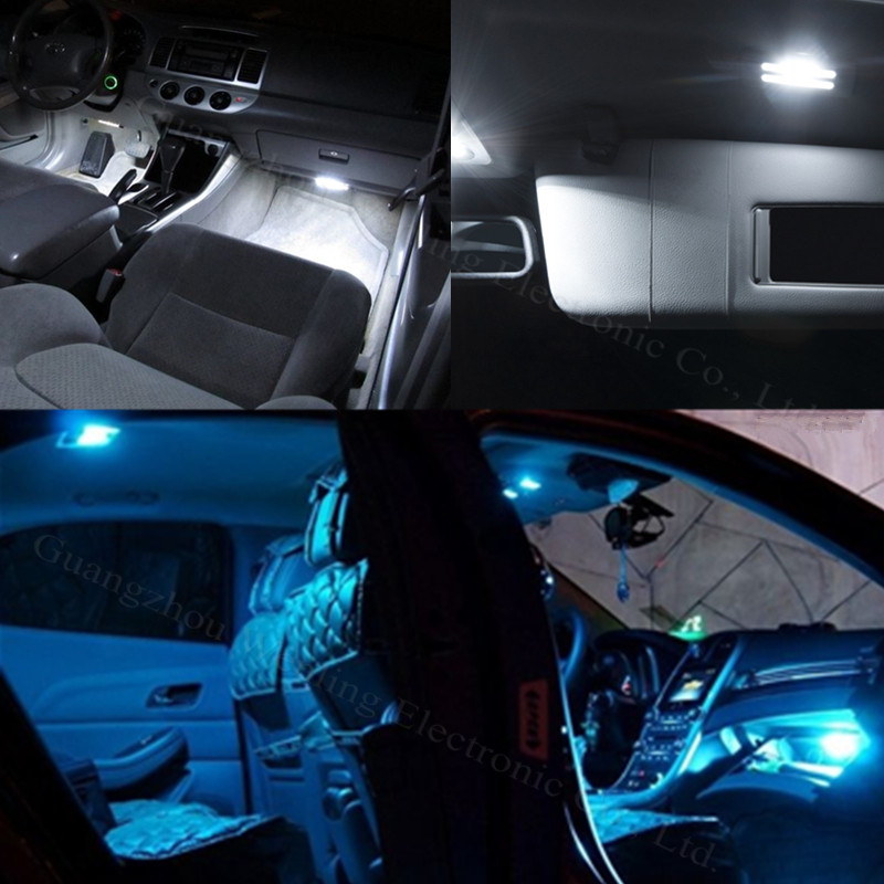 Car Led Interior Lights For 2019 Toyota Sequoia Sienna: 11x Led Light Lamp Dome Interior Bulb Car Interior