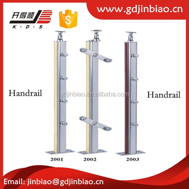 Stainless Steel Wood Handrails For Stair Accessories
