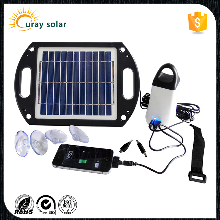 2016 adjustable brightness solar home lighting system