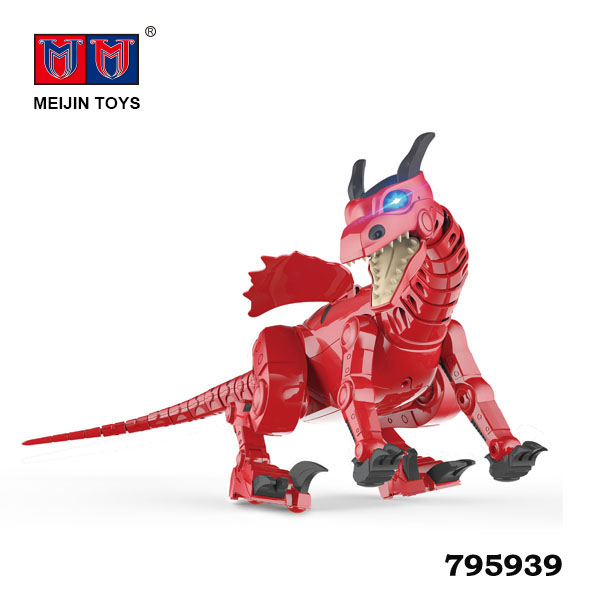Coolest fashion electric dinosaur robot toy for kids