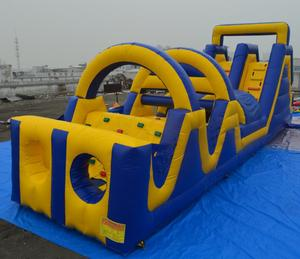 High quality crazy giant the beast boot camp adult inflatable obstacle course for sale