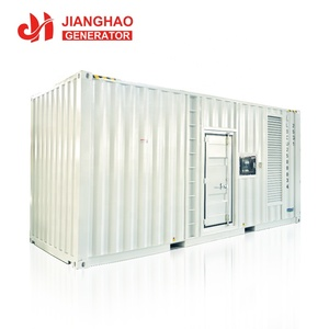 60hz 1100 kw generator container genset powered by cumins KTA38-G9 engine