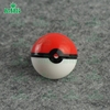 Pokemon go plus silicone non stick wax containers ball silicone stash jar small extract wax silicone container oil jars