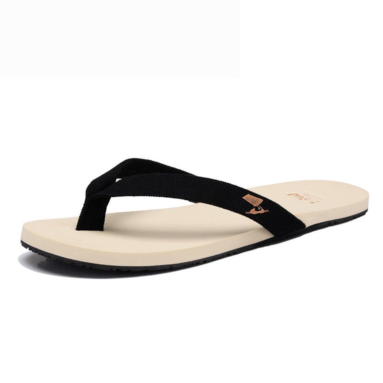 1d3dbc42111e Get Quotations · YANGYANGLE Men Leisure Fashion Rubber Soles Non-Slip  Lightweight EVA Holiday Beach Flip Flops