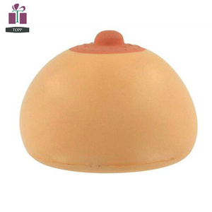 TOPP Custom Manufactured Bouncing Anti Breast Boob Stress Ball
