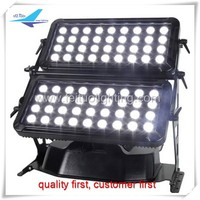 LED Light Source and IP65 72PCS RGBW led architectural lighting wall washer
