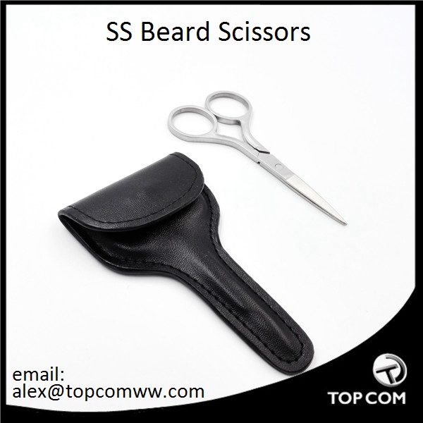2017 NEW Stainless Steel Beard Scissors With Premium Quality