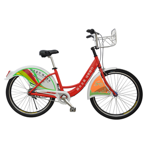 "High quality 24""alloy frame public bike with alloy rim/steel fender rental bike bicycles/comfortable saddle citibike for sharing"