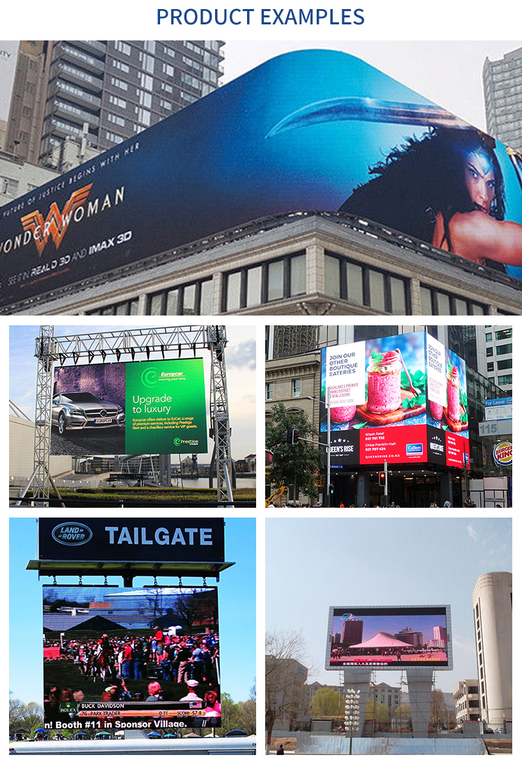 FA10 Outdoor Waterproof Full Color SMD Comercial LED Display Screen Pantallas Board