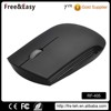 Flat wireles mouse with ergonomic design