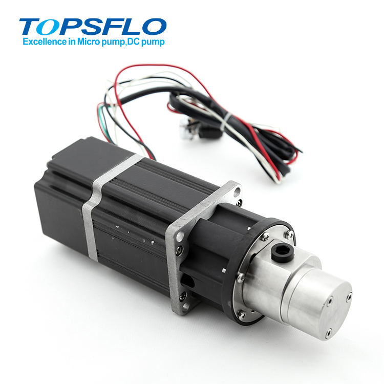 Continuous work high pressure gear pump for servo motor Price