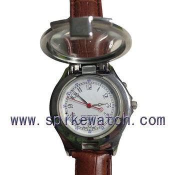Наручные часы лупа оригинальные наручные часы в подарок