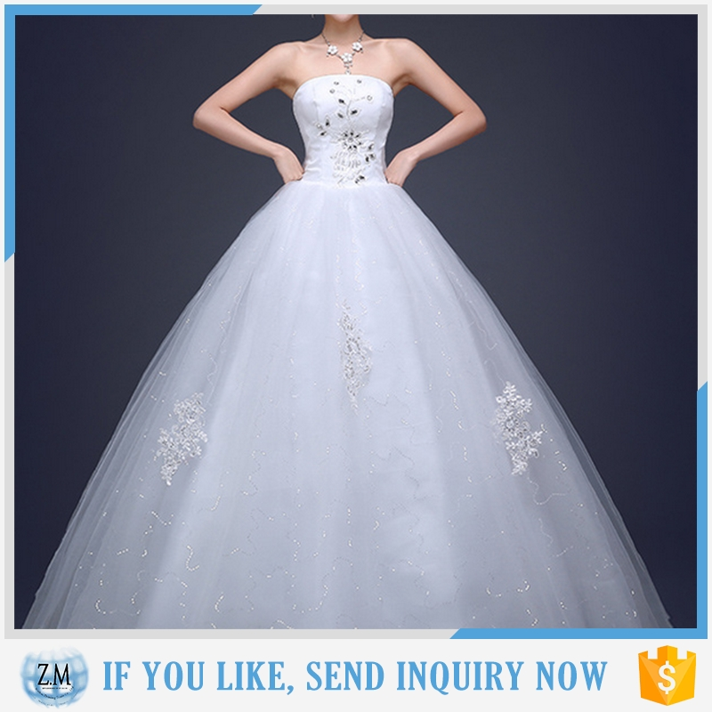 elegant wedding dress with factory price