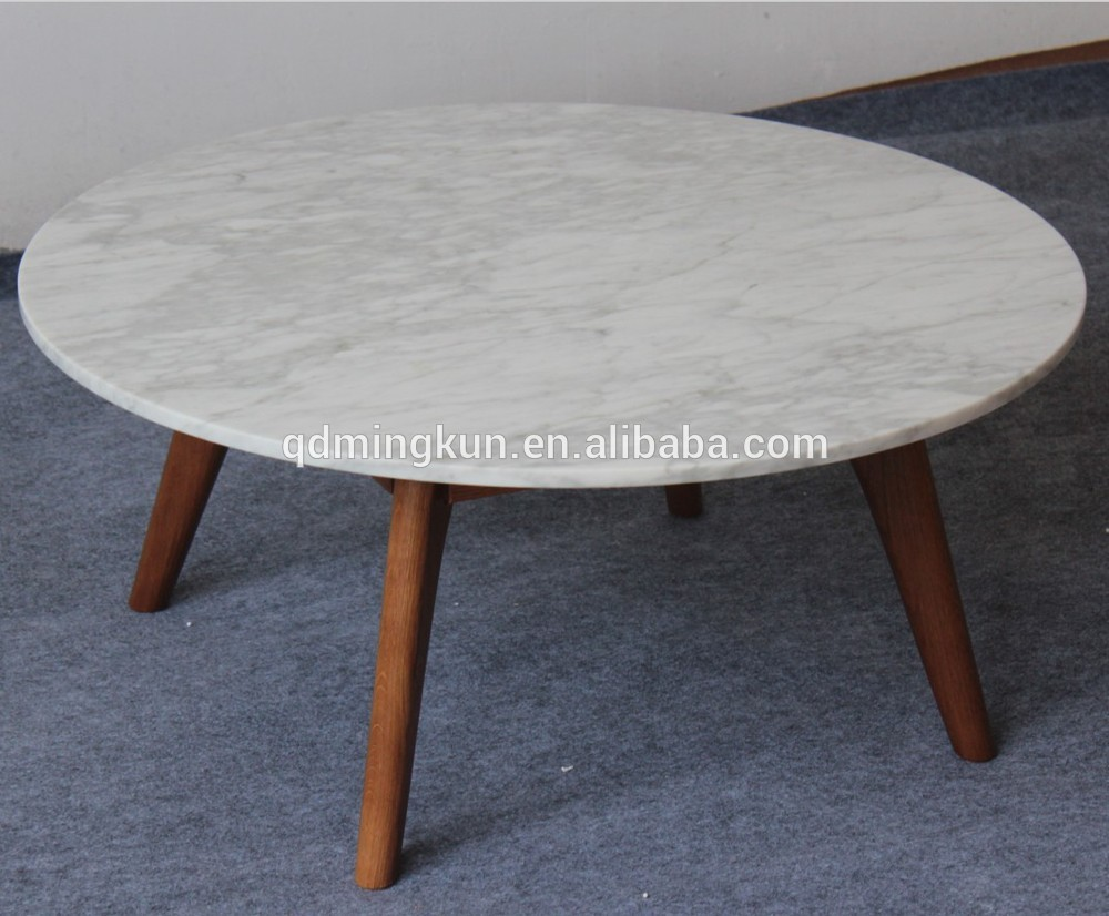 Carved wood marble top coffee table buy carved wood for Stone topped coffee tables