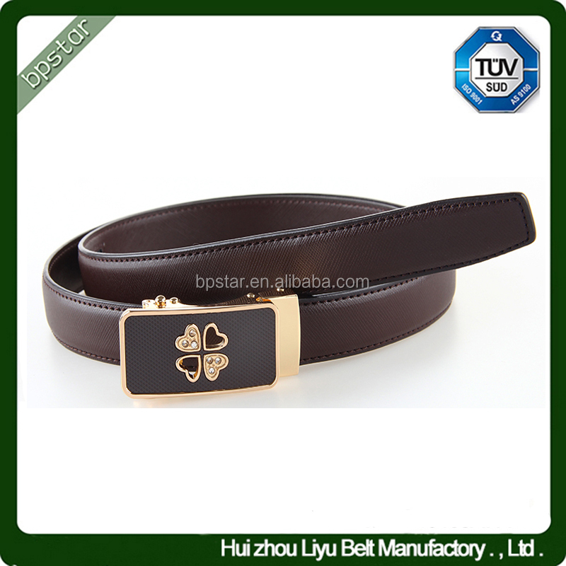 Ratchet women Genuine leather <strong>belts</strong> Female Lady Cowhide china Factory