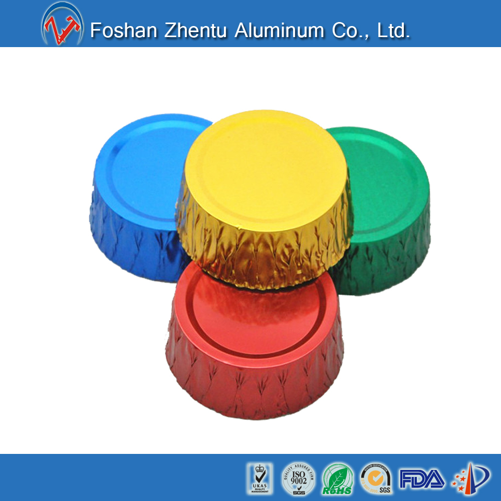Disposable Colorful Aluminum Foil Baking Cup