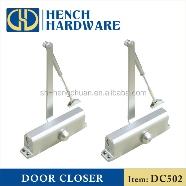 60-80kg Overhead Door Closer,Adjustable Fire Rated Overhead Door Closer Hydraulic Buffer Positioning Spring for Door Width 600-1200mm,Left and Right Hand Doors Home or Commercial Use
