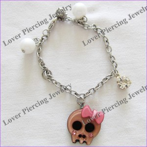 [CP-150] Custom Punky Bracelets Super Quality Engraved Anklet Jewelry