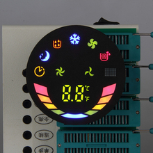 one digit 7 segment led display Custom Graphic Display for automatic washing machine