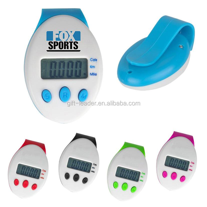 नवीनता व्यक्तिगत ब्रांड लोगो जेब आकार प्यारा कैलोरी संयुक्त बेल्ट क्लिप स्मार्ट फिटनेस खेल प्रशिक्षण सटीक डिजिटल pedometer