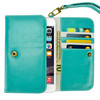 Hot Style wallet leather case for iphone SE,universal smart phone case for iphone SE
