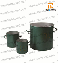 Heavy gauge steel Bulk density for measuring unit weight with two handles