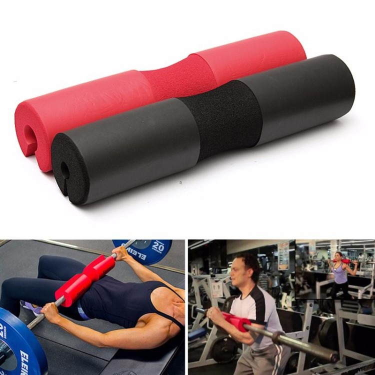 Hot Selling Aangepaste Logo Schuim Barbell Squat Pad